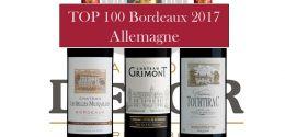 3 vins Delor  dans le Top 100 des vins de Bordeaux en Allemagne