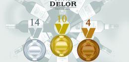 Delor, multiple medal winner in 2017
