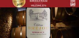 """Château Bréjou 2016: Bordeaux """"Talents"""" 2018"""