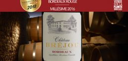 """Château Bréjou 2016: """"Talents de Bordeaux 2018"""""""