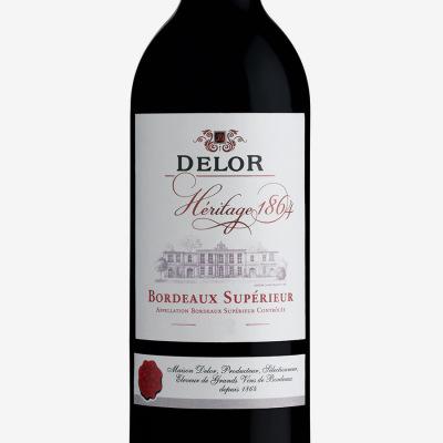 Bordeaux_Superieur-Delor_Heritage_1864-vin_Bordeaux