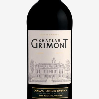 Grimont_château-Cadillac_Côtes_Bordeaux_étiquette-vin_Bordeaux