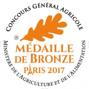 Medaille Bronze 2017